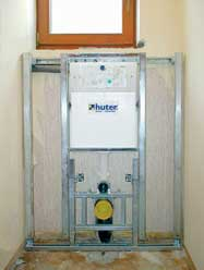WC Montagegestell Huter